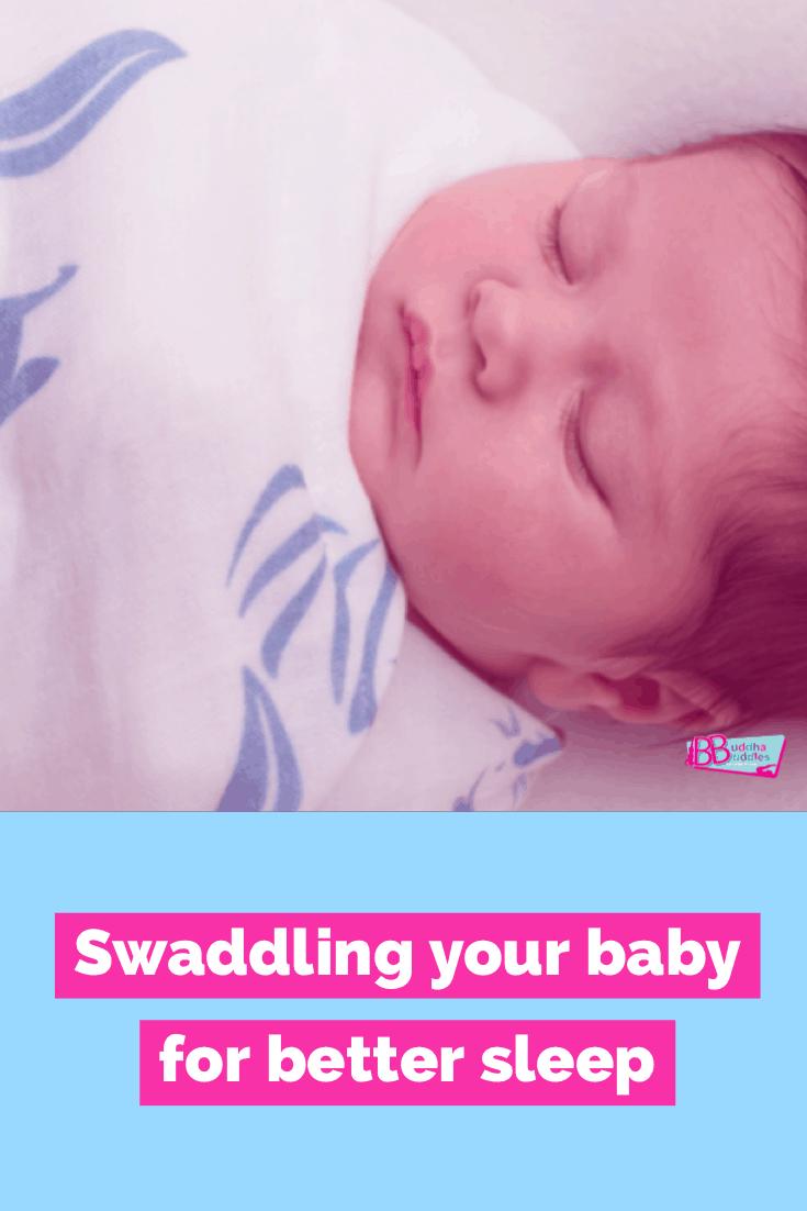 Swaddling your baby for Sleep