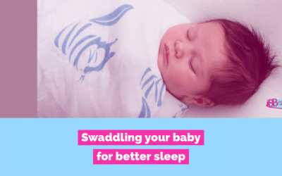 Swaddling your baby for Sleep